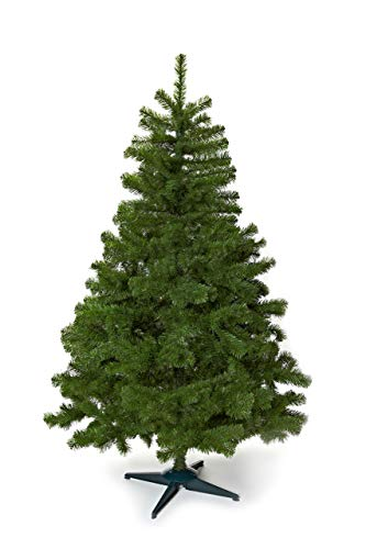 HEITMANN DECO - Sapin de Noël Artificiel - À Assembler - 180 cm - avec Pied en Plastique - Vert - Sapin de Noël