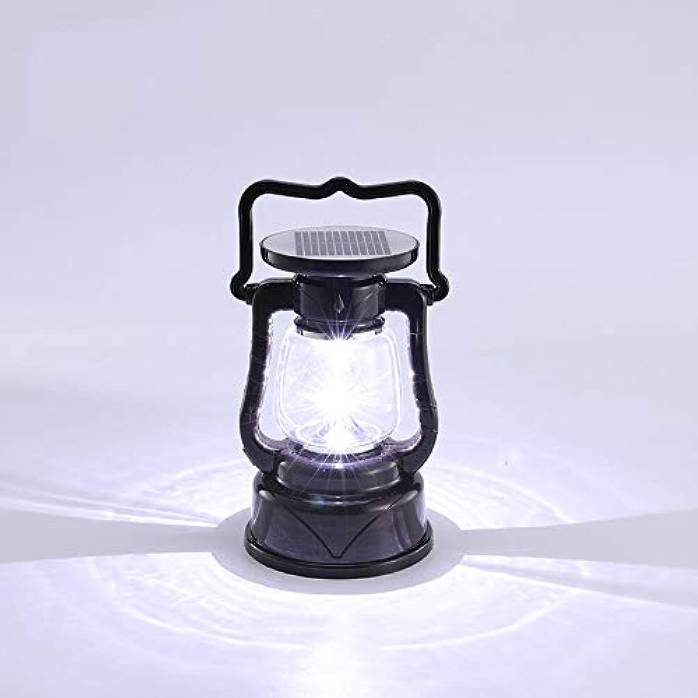 Pinjeer Imprgniern Sie geführtes Solarpfosten-Licht-super helles Hauptnotlicht-energiesparendes bewegliches tragbares Pferd Laterne-im Freien kampierende helle Zelt-Pfosten-Lampe (Farbe   Style-B)