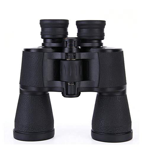 YITEJIA Outdoor Reizen Telescoop BAK4 Telescoop, 10X42 Verrekijker High Power HD Telescoop FAC Breedband Coating, Groot kaliber, Kunststof stalen frame, Bestand tegen vallen zwart. Waterdicht, Zwart