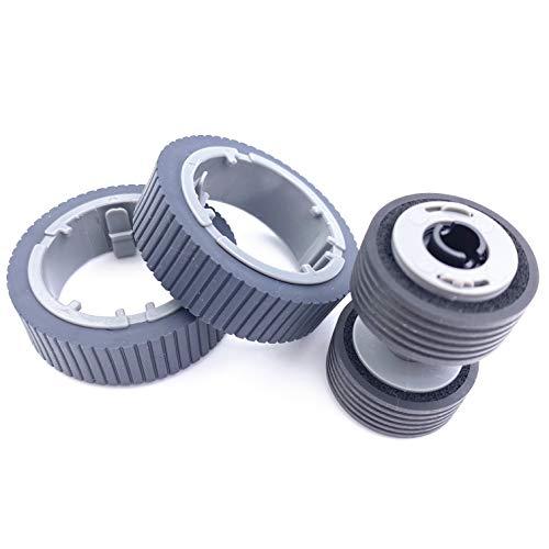 OKLILI PA03670-0001 PA03670-0002 Consumable Kit Pick Roller + Brake Roller Pickup Roller Compatible with fi-7160 fi-7260 fi-7140 fi-7240 fi-7180 fi-7280 fi-7300NX Photo #3
