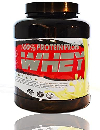 BEAT 100% WHEY Vaniglia 2 kg | Concentrato di proteine del siero di latte isolate; Integratore sportivo
