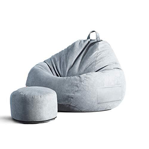 SD Confortable Pouf Poire/Bean Bag Chaise/canapé/Durable/avec Fermeture Éclair/A des Poches Latérales/pour Enfants Et Adultes/90 * 110 cm