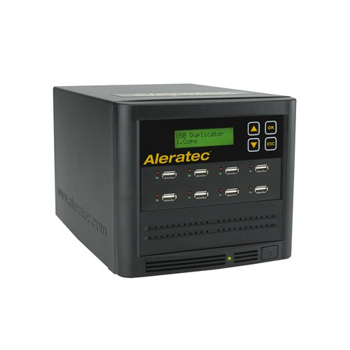 Aleratec Direct V2 1:7 Copy Cruiser SA USB HDD Duplicator, Black 330120