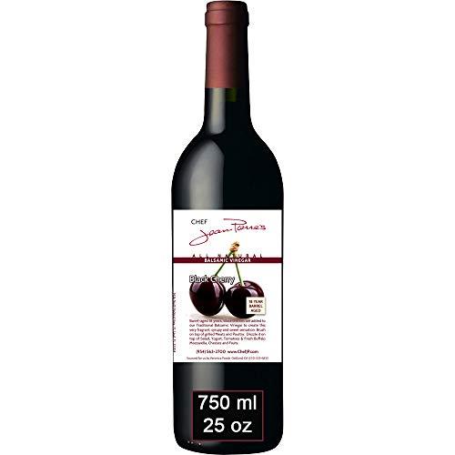 Black Cherry Traditional Barrel Aged 18 Years Italian Balsamic Vinegar 100% All Natural 750ml (25oz)