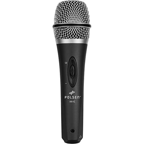 Polsen HH-IC Handheld Condenser Microphone for iOS and Android Devices