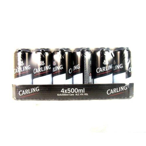 Carling (24x500ml Dose) incl. 6€ Pfand importiert aus GB