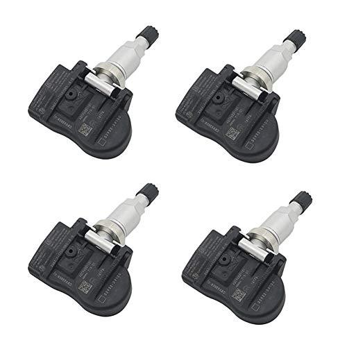 wanzi 4pcs for Kia Sportage 2017-2019 QL Niro Cadenza 17 18 52933D9100 52933D9100 TPMS Monitor de presión de los neumáticos Sistema de Sensor de 433Mhz Sensor de presión de neumáticos (Color : Black)