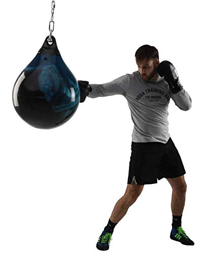 Aqua Punching Bag Bad Boy Blue 21-Inch (53cm) 190-Pound (86kg) Heavy Punching Bag