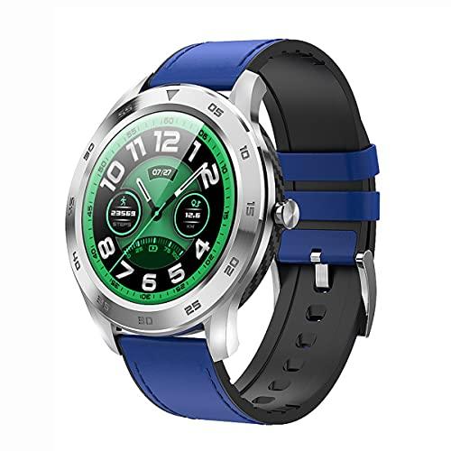 Lazzzgua Smart Watch 1.3inch Screen HD Toque Completo De HD/Respuesta Llamada Sport Sport Smartwatch para Hombres/Mujeres Ip67 Ip67 Impermeable Bluetooth Llamada Multifunción Smartwatch Muñeca