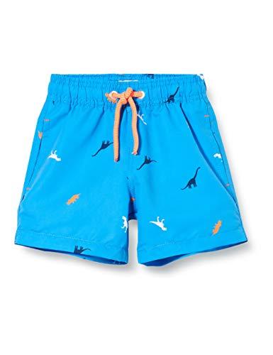 Sanetta Jungen Badehose Badeshorts, Blau (Blau 50303), 98 (Herstellergröße: 098)
