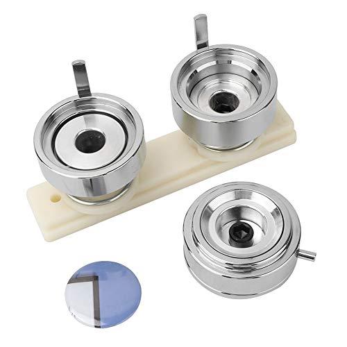 Fabricación de insignias, máquina ergonómica de 44 mm para hacer insignias DIY, conveniente máquina perforadora para botones de alfiler