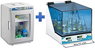 Bundle: Choose your Free Item with Benchmark H1000-M Incu-Shaker Mini with non-slip rubber mat, 115V Plus FREE H2200-HC MyTemp Mini Digital Incubator, Heat and Cool only