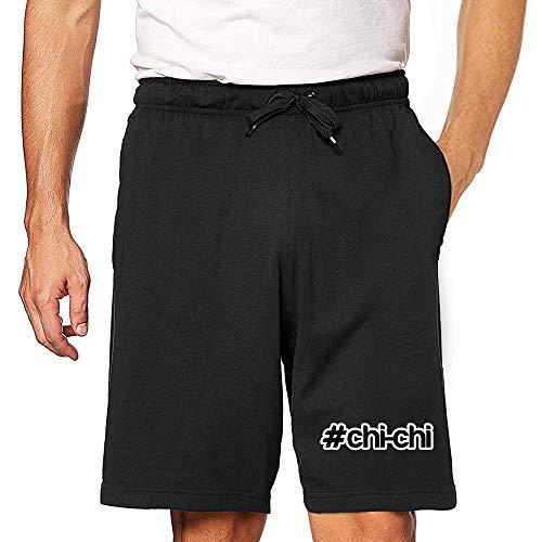 Eddany Hashtag Chi Chi Embroidered Short XL Black