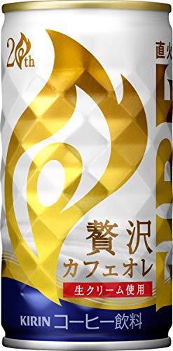 キリンファイア贅沢カフェオレ185g×30本
