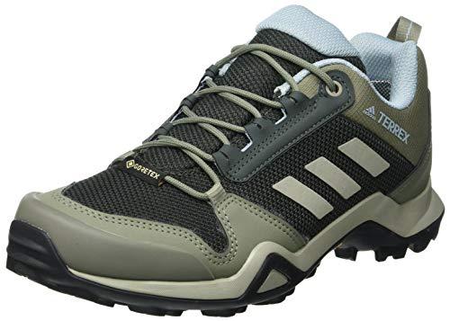 adidas Terrex AX3 GTX W, Scarpe da Trekking Donna, Legend Earth/Feather Grey/Ash Grey s18, 38 2/3 EU