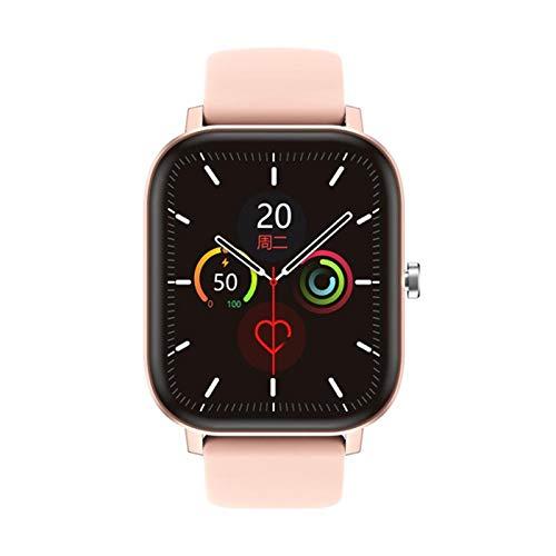 DT36 Men's Smart Watch 420 * 485 Bluetooth Llamada 1.75 Pulgadas Monitor De Ritmo Cardíaco Fitness Tracker Fashion Sports Mujeres Smartwatch Soporte Android iOS,B