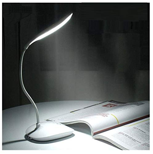 SaleON Rechargeable Led Touch Desk lamp, USB Charging led Book Light Touch dimming led Reading lamp Touch Sensor (1298)