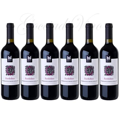 6 Bottiglie BARDOLINO Doc Veneto 2020 ROCCA BASTIA Bennati 75 cl