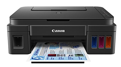 "Canon G3200 All-In-One Wireless Supertank (MegaTank) Printer| Copier| Scanner| and Mobile Printing, Black, 6.5"" x 17.6"" x 13"" (0630C002)"