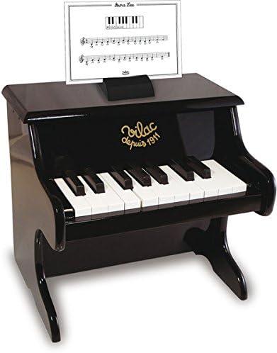 Vilac - 8296 - Musique - Piano Noir Avec Partitions