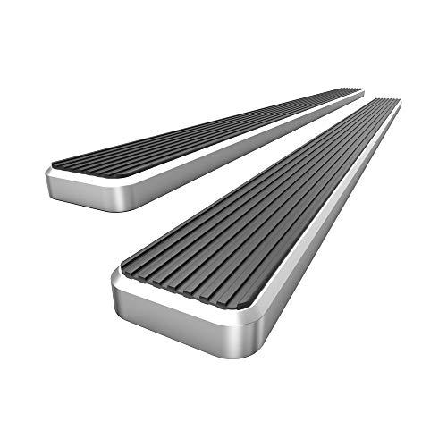 "HD Ridez Running Board Side Step Bars 6"" Silver Compatible with Honda CR-V 2017-2021 (Nerf Bar | Side Steps | Side Bars)"