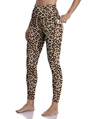 Free Leaper Mallas Deportivas Leggings Cintura Alta Push up Vestir con Bolsillos para Mujer Pantalones Largos de Yoga