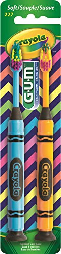 GUM Crayola Toothbrushes Soft 2 ea