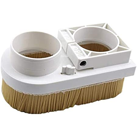 Spindle Brush Vacuum Cover Cleaner Engraving Machine Dust Shoe Boot for CNC