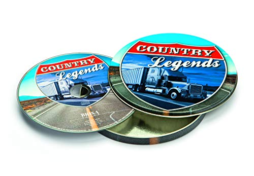BRISA music CD LEGENDS OF COUNTRY MUSIC - collector's edition, special edition, gift box