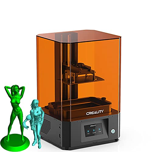 Official Creality LD-006 Resin 3D Printer Large LCD UV Photocuring Fast Printing With 8.9' 4K Monochrome Screen, Matrix UV LED Light Source And Dual Cooling 192 * 120 * 250mm