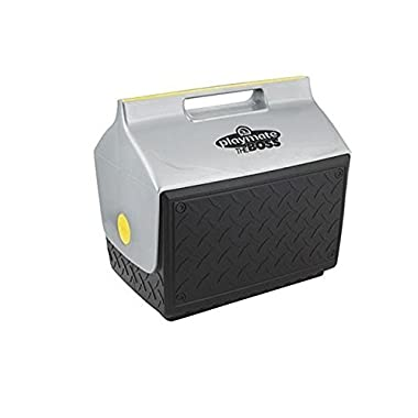 Igloo Playmate the Boss 14 Quart Cooler (1 Pack, Black/Silver/Yellow)