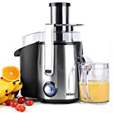 Juicers, Centrifugal Juicers Machine, Juice Extractor with LED Light, 3 inch Feed Chute 2 Speed...