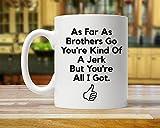 Regalo para hermano hermano regalo taza hermano divertido regalo hermano taza hermano regalo regalo regalo regalo hermano...