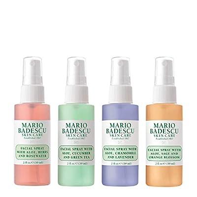 Mario Badescu TRAVEL-FRIENDLY The Mini Mist Collection Size 2 fl oz 59ml each from Mario Badescu