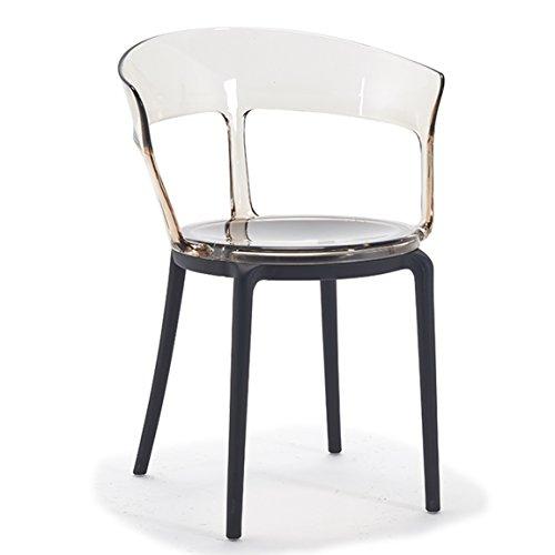 PLL Moderne creatieve stoel-Club hotel-stoel vrijetijdsstoel plastic stoel koffie stoel