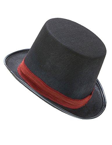 DEGUISE TOI - Chapeau Haut de Forme de Jacob- Assassins Creed Adulte - Taille Unique