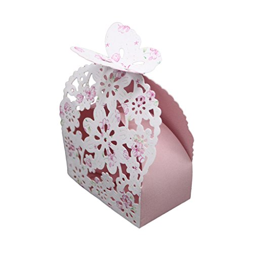 Vivianu Metall-Geschenkbox, Schmetterlings-Schablonen, Scrapbooking-Stempelkarte, DIY-Geschenkbox, Valentinstag