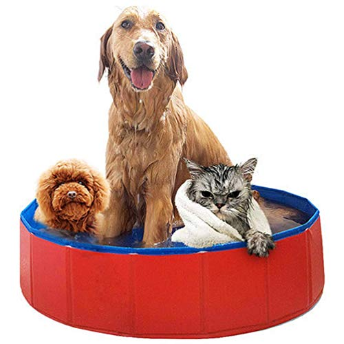 SKlight Opvouwbare hondenkuip, huisdierbak, groot zwembad voor huisdieren