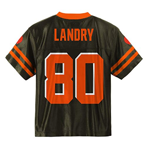 Outerstuff Jarvis Landry Cleveland Browns #80 Brown Youth Player Home Jersey (Medium 10/12)