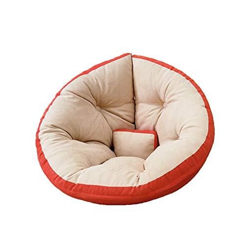 YILANJUN Sofá individual para niños o niñas, silla plegable ligera para salón multiescena, 9 colores