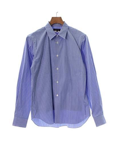 GARCONS HOMME PLUS プリュス ドレスシャツ メンズ 青x白系(ストライプ) XS 【中古】