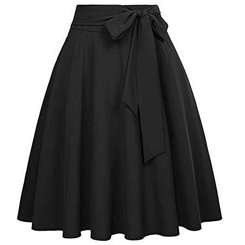 N\P Falda de cintura alta para mujer, falda de manga de cintura alta, falda de skate