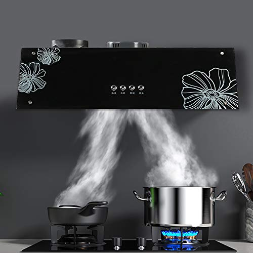Household Cooker Hood Range Smoke Extracting Appliance, Kitchen Cooking...