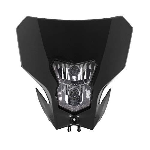 JFG RACING Lampe frontale de moto 12 V 35 W pour Honda CRF450L 2019-2020 CRF450XR CRF-450XR 2019-2020