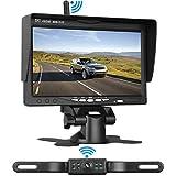 LeeKooLuu Wireless Backup Camera System for Car/Pickups/Minivan/Truck with 7'...
