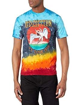 Liquid Blue Men s Led Zeppelin Icarus 1975 T-Shirt Multi Medium