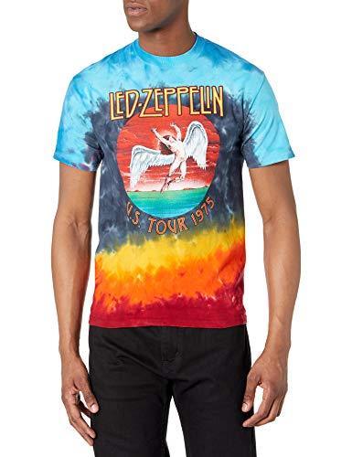 Led Zeppelin Icarus 1975 Hombre Camiseta Multicolor XXL, 100% algodón, Regular