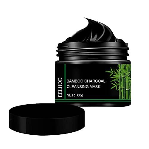 60ML Mee-eter verwijderingsmasker, Activated Charcoal Peel Off Mask For All Skin Mee-etermasker Diepe reiniging Poriënreiniging Acne Bamboo Charcoal Black Face Mask Peel off
