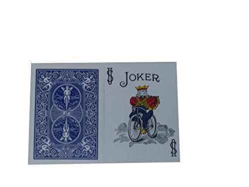 Bicycle Playing Card Force Deck Extra Jokers Blue Back (Color)