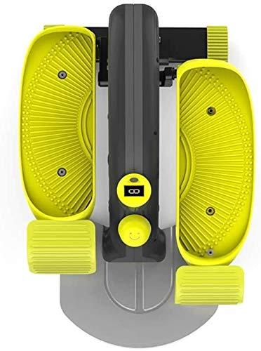 RTUHRJLXJ PE Innen Tragbares Mikro Aerobic-Übungen, Kalorienverbrauch Einstellbar, Vertikale Verstärkung Multifunktionsanzeige, Die Heimstrecke Einstellbarer Widerstand